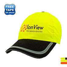 Flourescent Lightly Structured Safety Cap