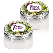 Body Butter in Square Jar, 4oz