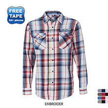 Burnside® Plaid Men's Shirt