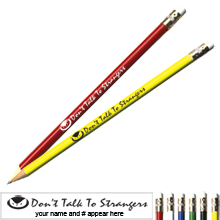 Don't Talk to Strangers Pricebuster Pencil