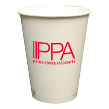 Biodegradable Hot Beverage Paper Cup, 12oz.