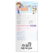 Babysitter's Emergency Guide Post Ups™