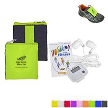 Walk-N-Wallet Walking Kit with Pedometer