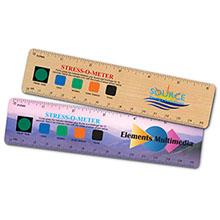 "Stress-O-Meter Ruler, 6"""