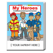 Police Coloring Books | Custom-Printed Police & Sheriff Coloring ...