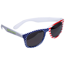 American Flag Patriotic Sunglasses