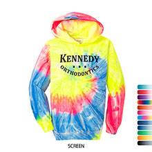 Port & Company® Essential Tie-Dye Youth Kanga Hoodie