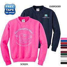 Gildan® Heavy Blend™ Crewneck Youth Sweatshirt
