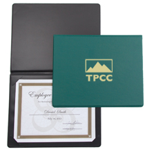 "Economy Certificate Holder, Portrait, 8-1/2"" x 11"""