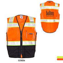 ML Kishigo® Black Series Black Bottom Safety Vest