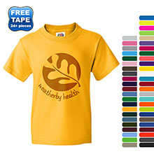 Fruit of the Loom® Heavy Cotton HD® 100% Cotton Youth Tee