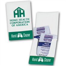 Instant Antibacterial Hand Sanitizer Pocket Pack