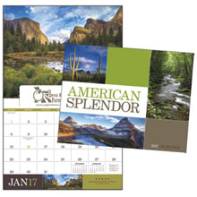 American Splendor Window Calendar