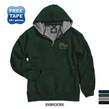 Charles River® Tradesman Full Zip Men's Hoodie