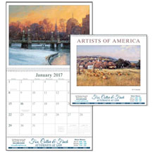 Artists of America Wall Calendar