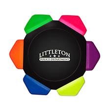Crayo-Craze® 6-Color Neon Crayon Wheels