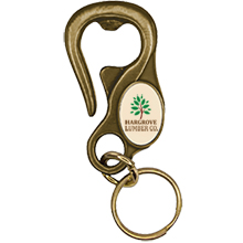 Belt Loop Bottle Opener Keytag