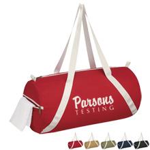 Airy Lightweight Cotton Duffel Bag