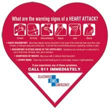 Heart Attack Warning Signs Mega-Mag