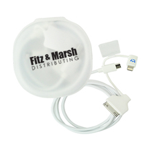 Micro USB & mFI 3-in-1 Cable