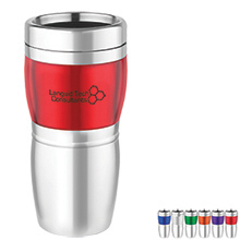 Ramsey Stainless Steel Tumbler, 16oz. - Free Set Up Charges!