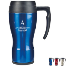 Thermocafe™ Thermos® Stainless Steel Travel Mug, 16oz. - Free Set Up Charges!