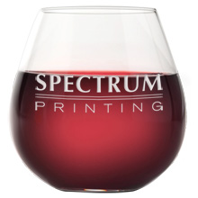 Riedel® 'O' Series Burgundy Stemless Wine Glass, Deep Etched, 23-3/4oz.