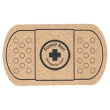 """Bandage Cork Coaster, 5-3/8"""""""