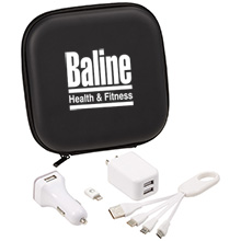 Premium Charging Travel Set