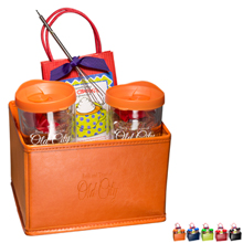 Avalon Tumblers, Hot Cocoa & Chocolate Covered Pretzels Gift Set