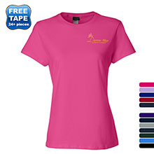 Hanes Nano-T® Ringspun Cotton Ladies' Tee