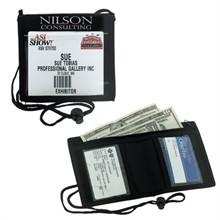 Bifold Neck Wallet