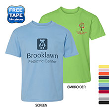 Hanes Nano-T® Ringspun Cotton Youth Tee