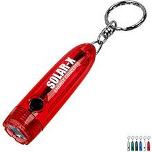 Bullet Light Key Ring Flashlight
