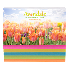 Five Color Sticky Note Full Color Binder