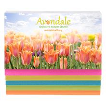 Five Color Sticky Note Full Color Binder