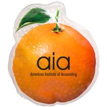 Orange Art Aqua Pearls Hot/Cold Pack