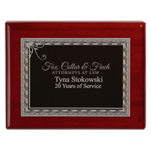 "Fairfield Award Plaque, 9"" x 7"""