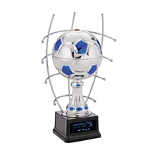 Goal Master Steel Award Trophy, Small, 12""