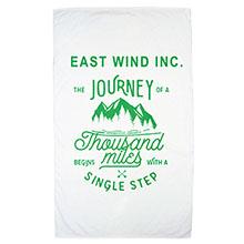Express White Heavy Weight  Beach Towel, 19 lbs.