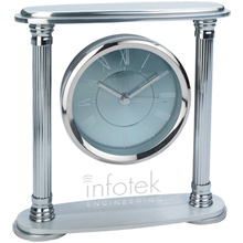 Blue Moon Acrylic Desk Clock