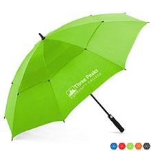 """Arcus Auto Open Vented Canopy Golf Umbrella, 60"""" Arc"""