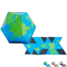 Areaware Magnetic Globe Puzzle