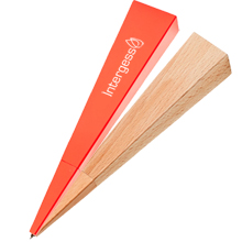Areaware Triangle Wood Standing Pen