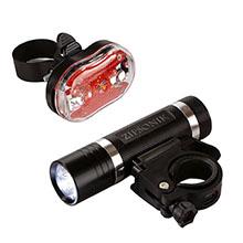 Bike Headlight & Taillight Gift Set