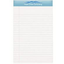 "Econo Legal Pad w/ Full Color Imprint, 5"" x 8"""