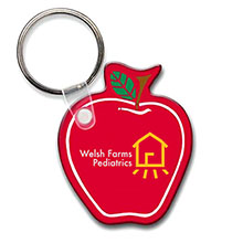 Apple Soft Vinyl Key Tag