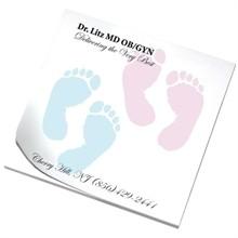 Sticky Pads, Foot Prints