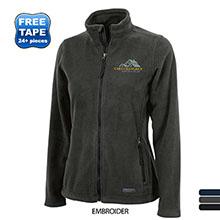 Charles River® Boundary Fleece Ladies' Full-Zip Jacket