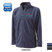 Charles River® Boundary Fleece Men's Full-Zip Jacket